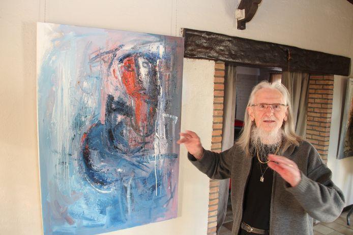 Kunstschilder Marcel Beeckman.