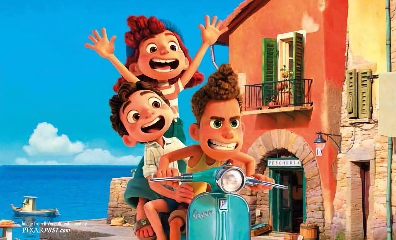 'Luca' Beeld Pixar