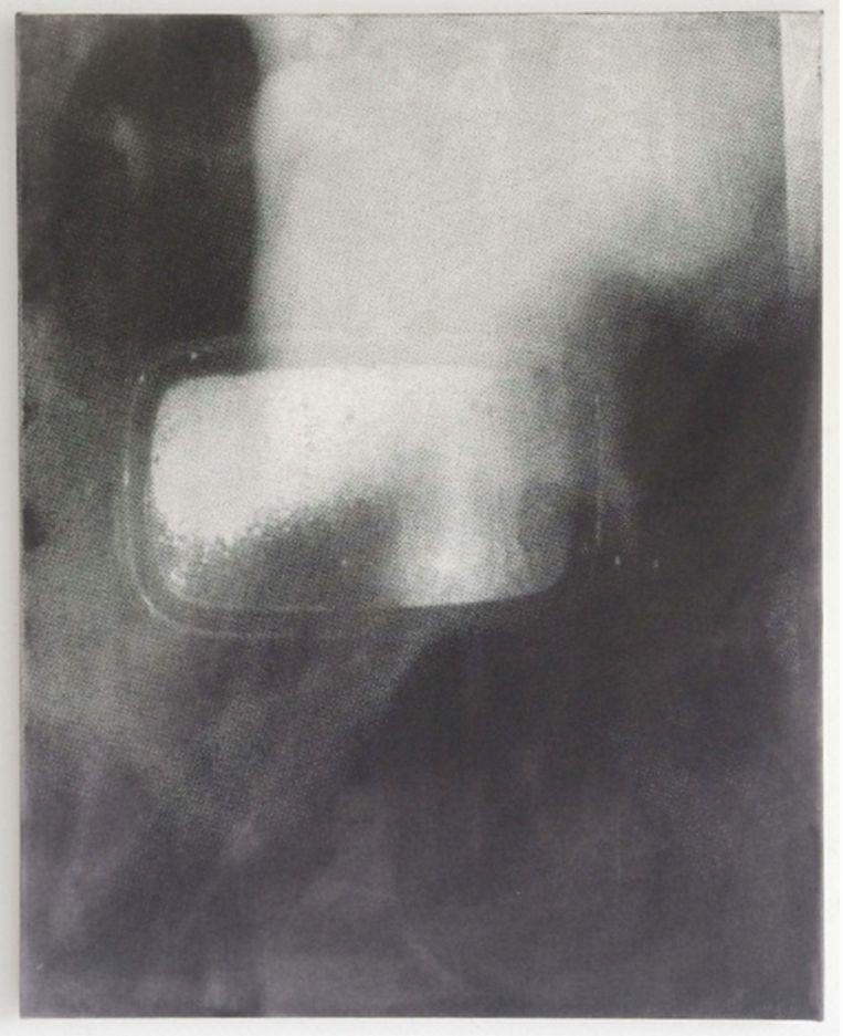 Joan van Barneveld in Galerie Fontana. Beeld Joan van Barneveld