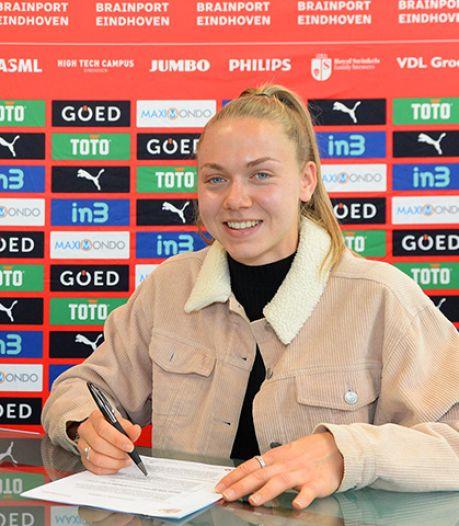 Keeperstalent Lisan Alkemade langer bij PSV