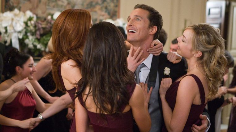 Matthew McConaughey in 'Ghosts of Girlfriends Past' van Mark Waters. Beeld