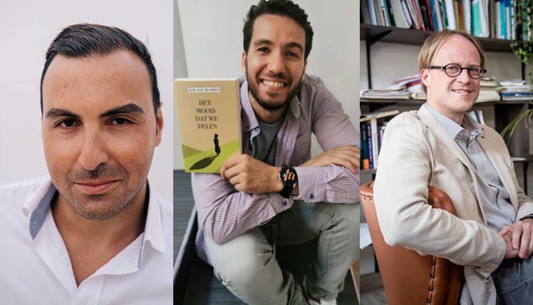 lezingen door: Khalid Benhaddou, Ish Ait Hammou en Patrick Loobuyck