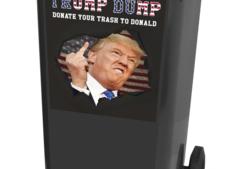 'Stort je afval uit over Donald Trump'