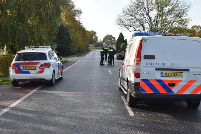 Politie bij dodelijk ongeval in Kerkdriel