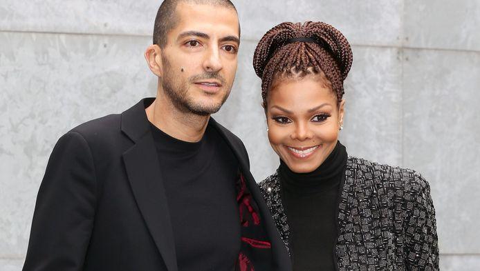 Wissam Al Mana en Janet Jackson.