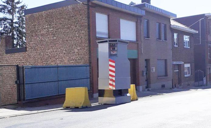Cette semaine, le lidar se trouve rue Louis Demeuse, à Herstal.