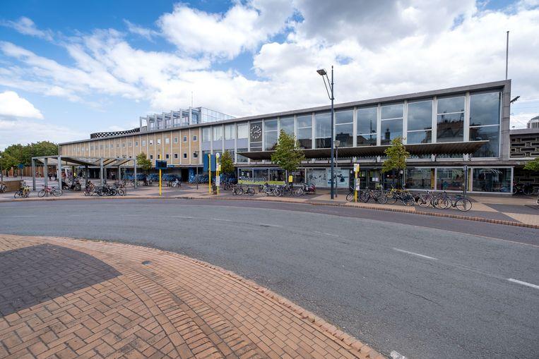 De plooifietsen werden gestolen aan het station van Mechelen.