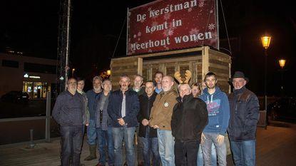 De Kerstman woont (toch eventjes) in Meerhout