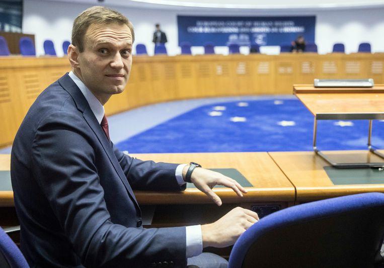 Aleksej Navalny Beeld AP