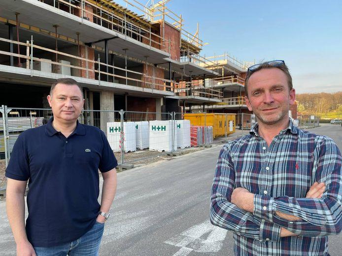 Peter Reekmans, Tom Struys nemen samen met hun team van C Store binnenkort intrek in een nieuw pand.