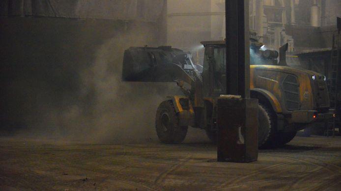 Opnieuw smeulend afval bij afvalverwerkingsbedrijf Deurne.