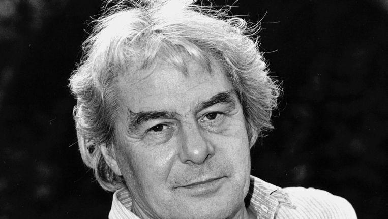 Lucebert krijgt in 1983 de Prijs der Nederlandse Letteren. Beeld null