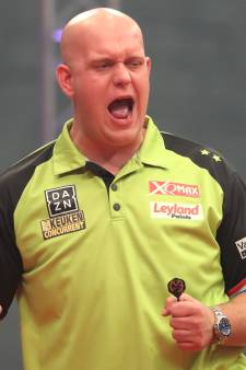 Van Gerwen zonder problemen door in World Grand Prix