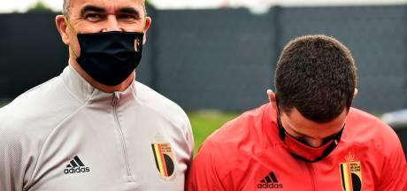 Roberto Martinez comptait sur Eden Hazard, avant d'apprendre sa nouvelle blessure