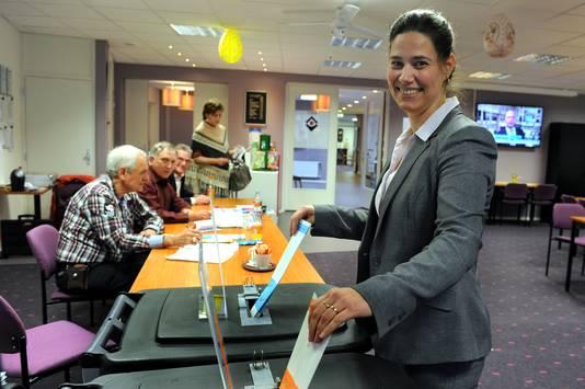 De Hoevense VVD-Statenlid Wilma Dirken.