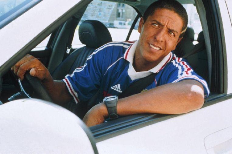 Samy Naceri in Taxi van Gérard Pirès Beeld