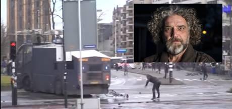 Tegelzetter Marcel (47) achter slot en grendel voor gooien van fiets naar ME bij rellen Eindhoven