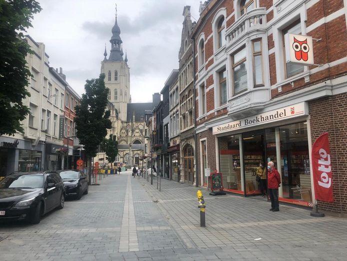 Onder meer de Nieuwstraat zal tijdelijk worden afgesloten tijdens de zomerbraderie.