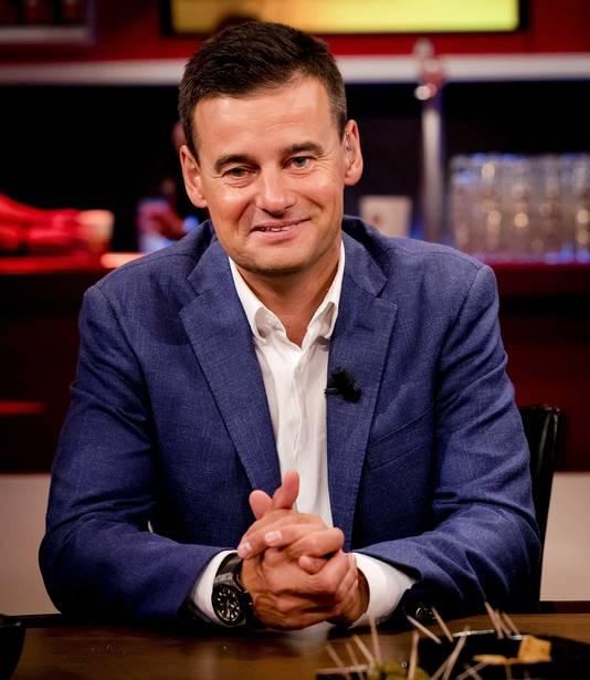 Wilfred Genee tijdens de uitzending van het RTL-programma Voetbal Inside.