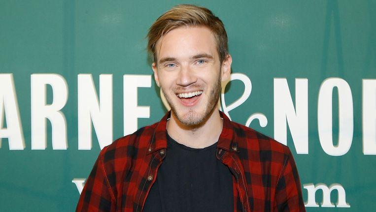 PewDiePie is de bestbetaalde YouTuber ter wereld. Beeld AFP