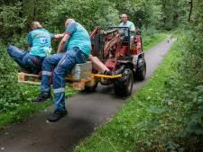 Boer Diederik (48) na buitengewone redding met shovel in Ommen: 'Ze konden het slachtoffer niet vinden'