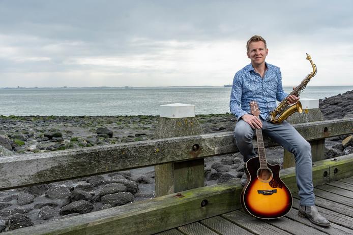Singer-songwriter Ruben de Keijzer uit Vlissingen