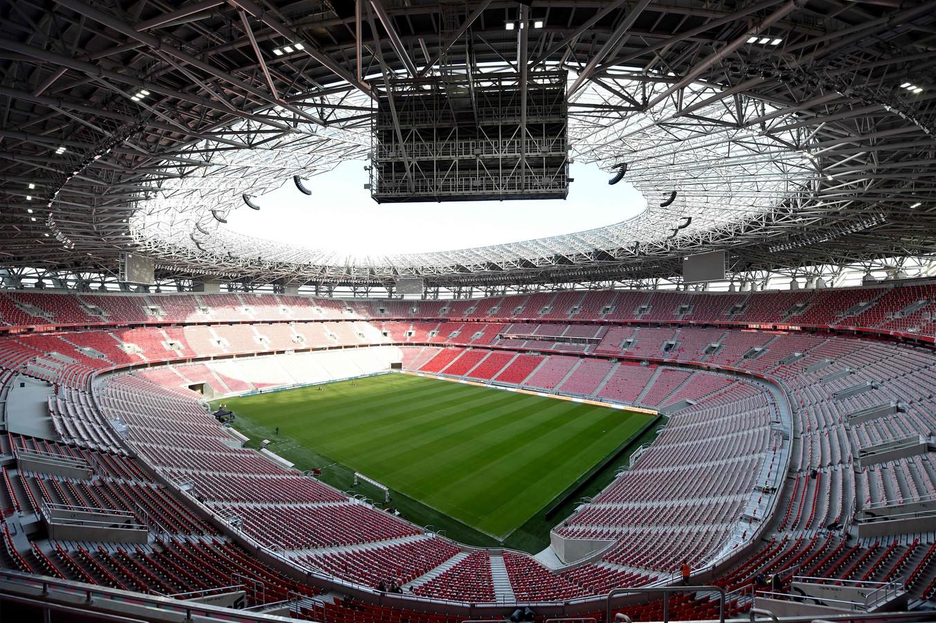 De Puskas Arena in Boedapest.