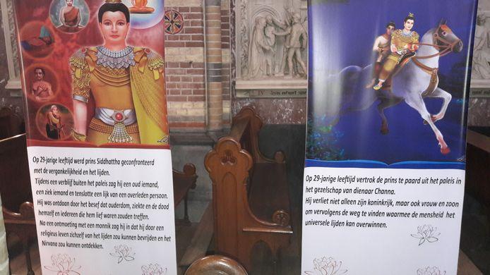 Uitleg over het leven van de boeddha.