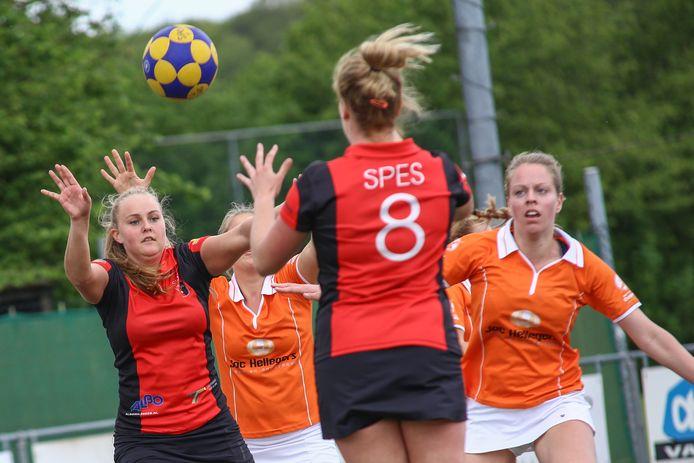 14-05-2017: Spes-Oranje Wit Korfbal Milsbeek De Gelderlander Nijmegen DG