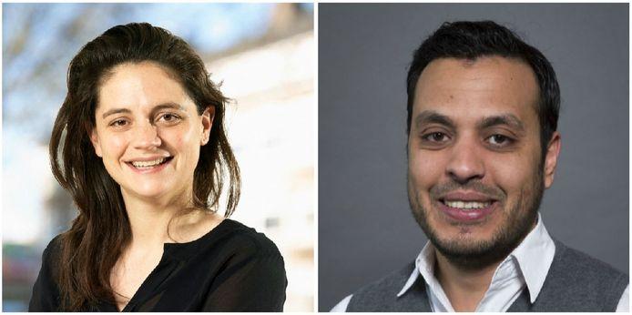 PvdA-lijsttrekker Barbara Kathmann eist tekst en uitleg van Nourdin el Ouali van Nida.