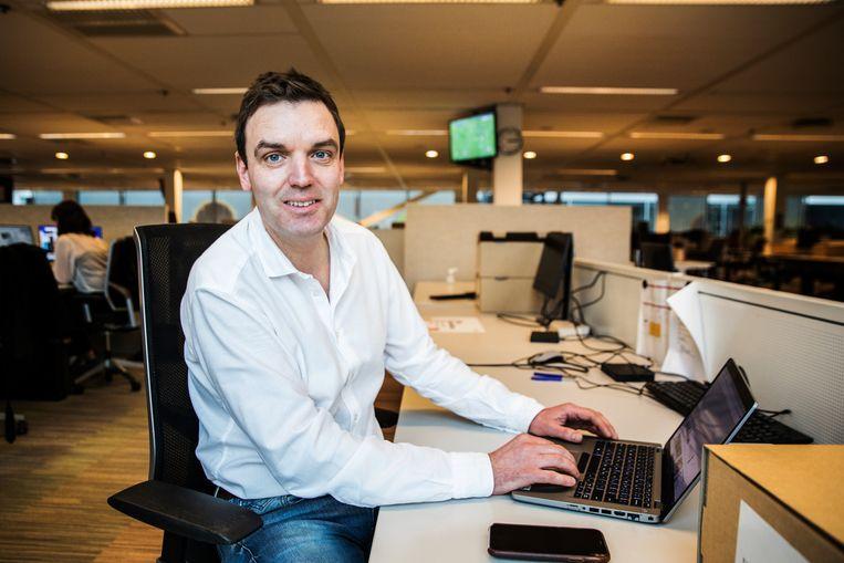 Gert-Jan van Teeffelen, de nieuwe adjunct-hoofdredacteur Beeld Aurélie Geurts