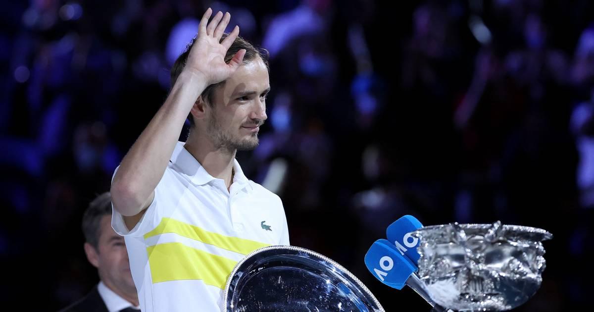 """Fin de l'hégémonie du """"Big Four"""", Medvedev va devenir numéro 2 mondial - 7sur7"""