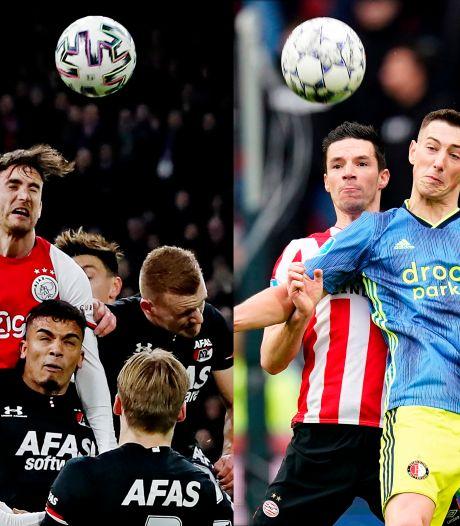 Eredivisie: Zes toppers, inclusief klassieker Ajax-Feyenoord, in januari