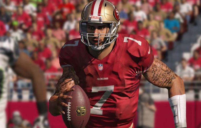Colin Kaepernick in Madden NFL Beeld EA Sports