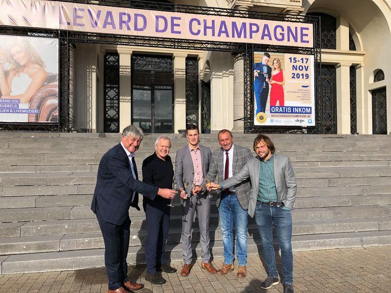 Boulevard de Champagne nodigt dit jaar de Oostendenaars uit