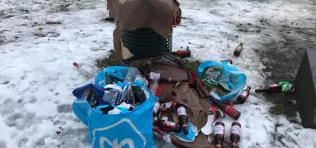 Schaatslocaties wisselend geplaagd door afval: van 'viel reuze mee' tot 'dramatisch'