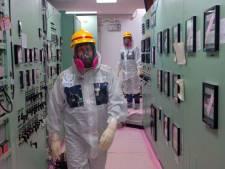Stoom uit beschadigde reactor van kerncentrale Fukushima