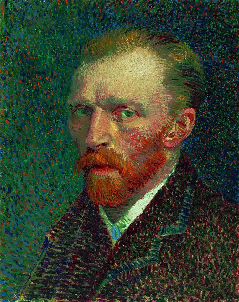 Zelfportret, 1887. Beeld RV