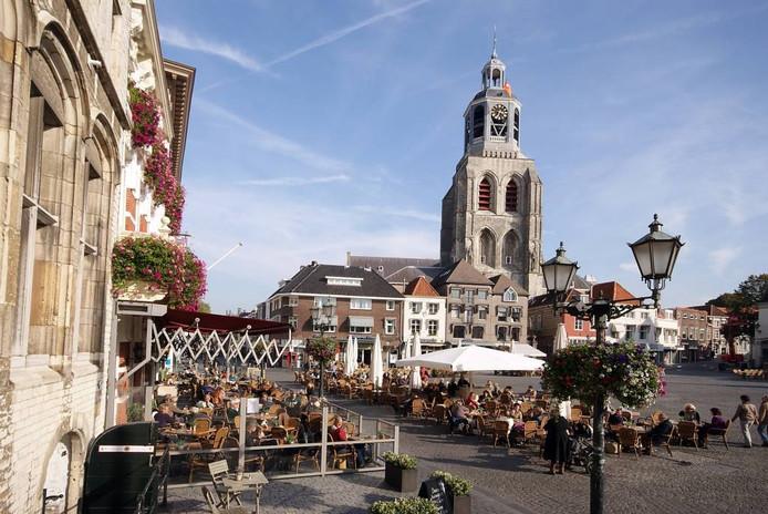 Binnenstad van Bergen op Zoom Archieffoto Rob Zorn
