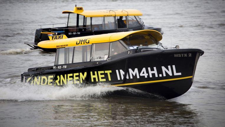 Rotterdamse watertaxi heden ten dage. Beeld FTP