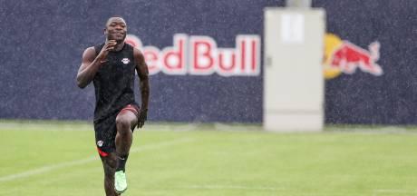 Blessure houdt Brobbey aan de kant bij nieuwe club RB Leipzig