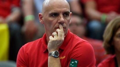 Van Herck stopt bij Tennis Vlaanderen, maar blijft kapitein van Fed Cup- en Davis Cup-team