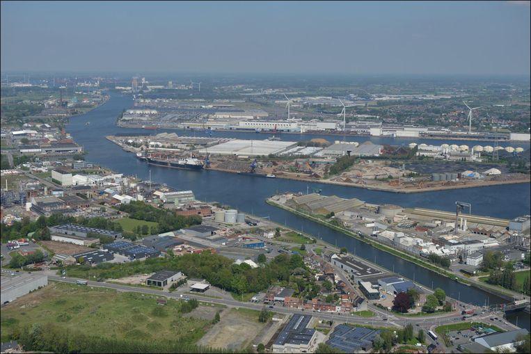 Alleen al vanuit de Gentse haven vertrok het afgelopen 150.000 ton bagger naar Nederlandse vijvers. Beeld photo_news