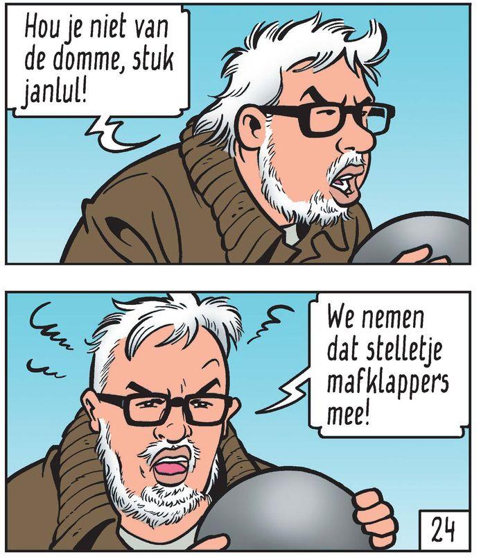 Stijn Meuris maakt zich kwaad in het album