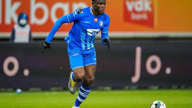 """Michael Ngadeu (AA Gent), terug na maanden blessureleed, wist niet wat hij zag: """"Ik herkende mijn ploegmaats niet"""""""