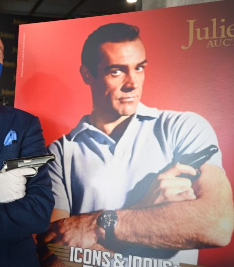 James Bond-pistool Sean Connery verkocht voor 250.000 dollar