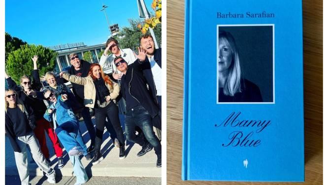 BV 24/7. De opnames van 'Liefde voor Muziek' zitten erop en Barbara Sarafian heeft een boek uit