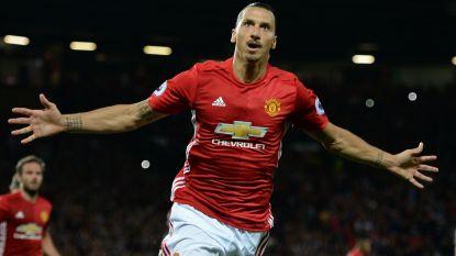 Daar is Zlatan weer,  maar Mourinho blijft Lukaku prijzen