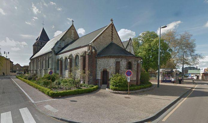 De kerk in Saint-Etienne-du-Rouvray
