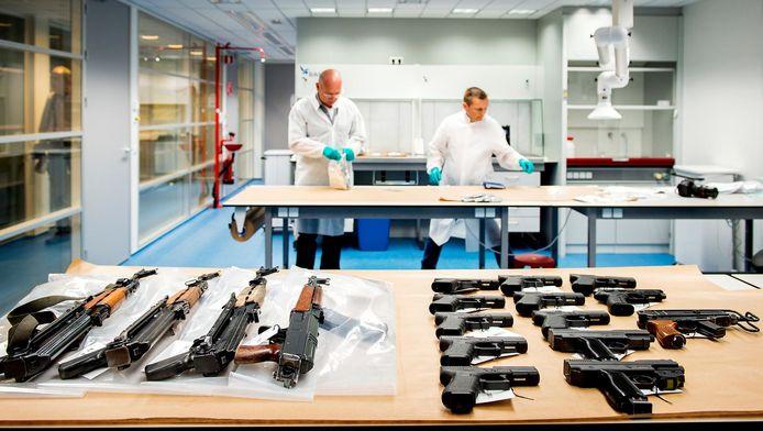 In 2015 werd een zeer grote wapenvondst gedaan in Nieuwegein.